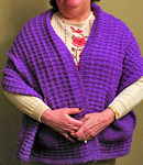 Readers Wrap Knitting Pattern : Malabrigo Merino Worsted - 193 jacinto - at California Yarn Co.