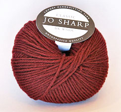 Jo Sharp Classic DK Wool color #307 wine