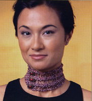 Artful Yarns Marine Yarn Choker Necklace Pattern