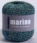 Arful Yarns Marine Knitting Yarn, Artful Yarns Marine Knitting pattern.