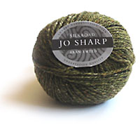 Jo Sharp Silkroad Aran Tweed knitting yarn