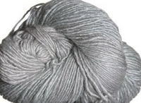 Malabrigo Silky Merino Yarn, color 429 cape cod gray