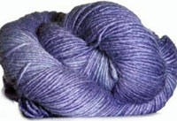 Malabrigo Silky Merino Yarn, color 418 london sky