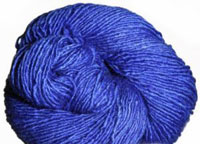 Malabrigo Silky Merino Yarn, color 415 matisse blue