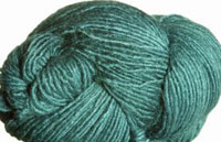 Malabrigo Silky Merino Yarn, color 412 teal feather