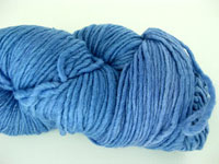 Malabrigo Merino Worsted Yarn, color bijou blue 608