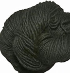 Malabrigo Merino Worsted Yarn, color black 195