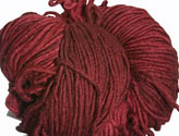 Malabrigo Merino Worsted Yarn, color 41 burgundy