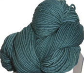 Malabrigo Worsted Merino Yarn, color emerald 135