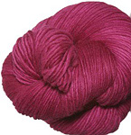 Malabrigo Worsted Merino Yarn, color 93 fuchsia 93