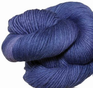 Malabrigo Worsted Merino Yarn color indigo 88