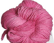 Malabrigo Worsted Merino Yarn, color 184 shocking pink