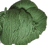 Malabrigo Worsted Merino Yarn, color 117 verde adriana