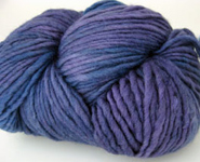 Malabrigo Worsted Merino Yarn, color violetas 68