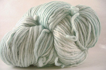 Malabrgo Merino Worsted yarn, color 83 water green
