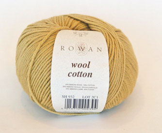 Rowan Wool Cotton mustard 932 on sale