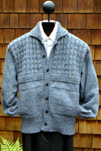 Mari Sweaters Yoke Pattern Jacket