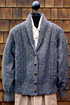 Mari Sweaters Shawl Collar Sweater