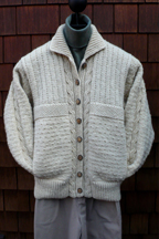 Mari Sweaters Cable & Purls Jacket