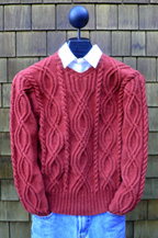 Mari Winding Cables Pullover MS 194