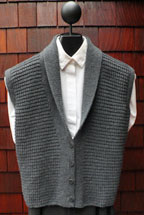 Mari Classic Shawl Collar Vest MS 196