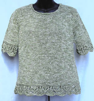 Lotus Flower knitting pattern