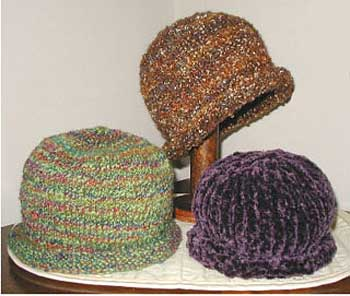 Lisa Knits Roll Brim Hat, HT-007