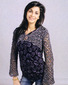 Free Bed Jacket Crochet Pattern