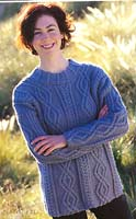 Jo Sharp Book 2, pattern Turtledove Sweater