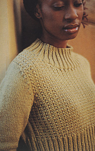 Jo Sharp SILKROAD ARAN yarn  Nina pattern   Pattern Book - The Gathering - Book five