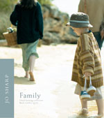 Jo Sharp knitting pattern book seven - The Family, Jo Sharp knitting yarn,