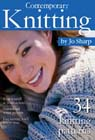 Jo Sharp knitting pattern book - Contemporary Knitting