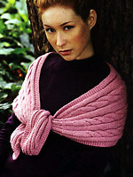 Jo Sharp knitting pattern book - Knit  Issue 3, Jo Sharp Alpaca Kid Lustre knitting yarn