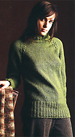 Jo Sharp knitting pattern book - Knit  Issue 3, Jo Sharp Silkroad Aran knitting yarn