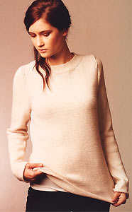 Jo Sharp Knit Issue 4, Jo Sharp Alpaca Silk Georgette Sweater