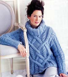Reynolds Blizzard Knitting Pattern