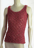 Adrienne Vittadini Camille Lace Tank knitting pattern