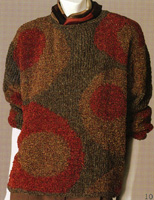 Adrienne Vittadini Fall Collection 2002 vol 19 Circles Pullover
